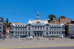 Plac De Armas, Valparaiso Fotografia Stock