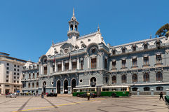 Plac De Armas, Valparaiso zdjęcia royalty free