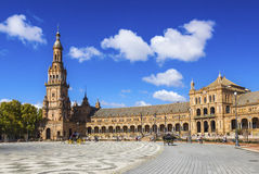 Plac De España Zdjęcie Royalty Free