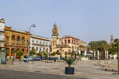 Plac De Espana, Ecija, Hiszpania fotografia stock