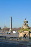 Plac de la Concorde, Paris, France Stock Photography