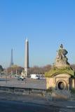Plac de la Concorde, Paris, France Stock Photography