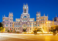 Plac De Los angeles Cibeles Madryt obraz royalty free