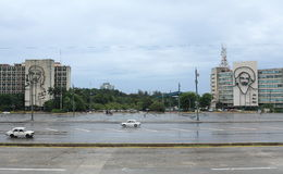 Plac De Los angeles Revolucion, rewolucja kwadrat/, Hawański, Kuba Obraz Stock
