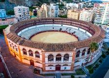 Plac De Toros, los angeles Malagueta, Malaga Fotografia Royalty Free