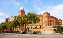 Plac De Toros Monumentalny. Barcelona Obraz Royalty Free