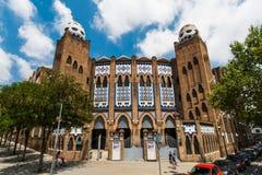 Plac De Toros Monumentalny De Barcelona Obraz Stock