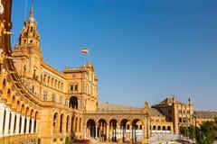 Plac De w Sevilla Espana Obrazy Royalty Free