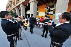 Plac Garibaldi, Meksyk - Fotografia Royalty Free