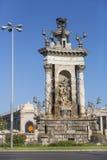Plac Hiszpania w Barcelona Obrazy Royalty Free