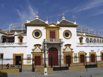 Plac Hiszpanii Sewilli de toros Obraz Stock