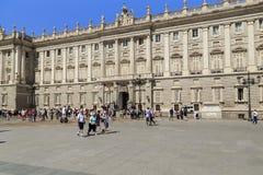 Plac Oriente, Madryt Fotografia Royalty Free