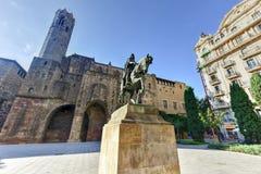 Plac Ramon Berenguer Wielki - Barcelona Obrazy Royalty Free