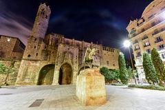 Plac Ramon Berenguer Wielki - Barcelona Zdjęcie Royalty Free