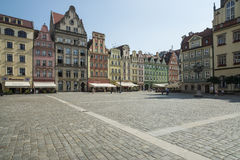 Plac solny wroclaw poland europe Stock Photography