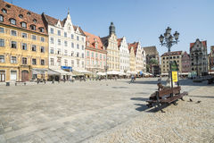 Plac solny wroclaw poland europe Stock Images