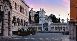 Plac swoboda Udine Zdjęcia Stock