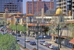 Plac, w centrum Kansas City, MO fotografia stock