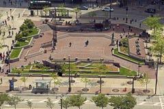 Plac w Cleveland obraz stock