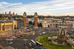 Placa δ ` Espanya στη Βαρκελώνη Στοκ φωτογραφία με δικαίωμα ελεύθερης χρήσης