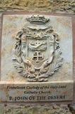 A placa Imagem de Stock Royalty Free