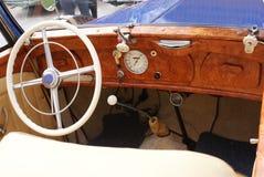 Placa antiga do carro da coleção Fotografia de Stock