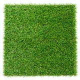 Placa artificial de la hierba fotografía de archivo