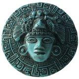 Placa azteca Foto de archivo libre de regalías
