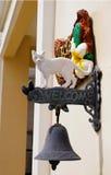 Placa bem-vinda a minha casa Imagem de Stock Royalty Free