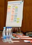Placa branca do barramento Imagem de Stock
