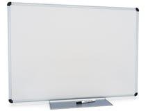 Placa branca do marcador Imagens de Stock
