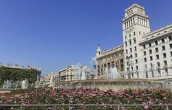 Placa Catalunya Stock Image
