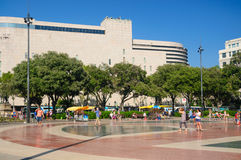 Placa Catalunya open space Royalty Free Stock Images