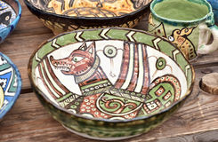 Placa cerâmica foto de stock royalty free