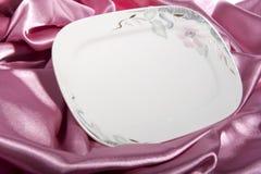 Placa cerâmica elegante Imagens de Stock Royalty Free