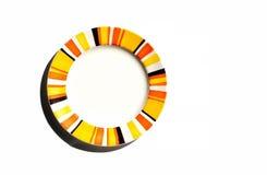 Placa colorida Imagen de archivo libre de regalías