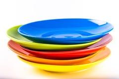 Placa colorida Imagenes de archivo