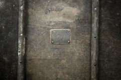 Placa conocida de cobre capítulo. Imagenes de archivo