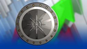placa 3d Imagem de Stock Royalty Free