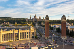 Placa d`Espanya in Barcelona Royalty Free Stock Photography
