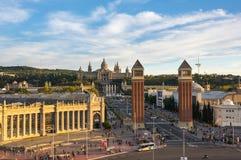 Placa d`Espanya in Barcelona Royalty Free Stock Image