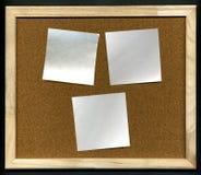 Placa da cortiça fotografia de stock royalty free