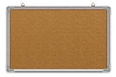 Placa da cortiça no frame de alumínio Imagem de Stock Royalty Free
