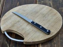 Placa da faca de cozinha Imagem de Stock