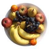 Placa da fruta Fotografia de Stock