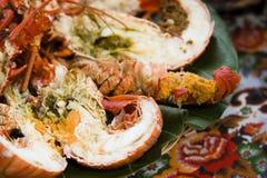 Placa da lagosta Foto de Stock Royalty Free