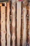 A placa da laje na cerca Imagens de Stock
