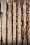 A placa da laje na cerca Imagem de Stock