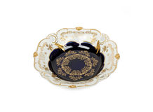 Placa da porcelana Imagens de Stock Royalty Free