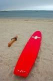 Placa da vigília do Lifeguard Foto de Stock